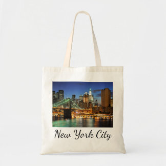 New York City Skyline, New York, USA Tote Bag