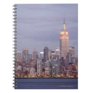 New York City Skyline Notebooks