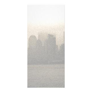 New York City Skyline NYC City Gifts 10 Cm X 23 Cm Rack Card
