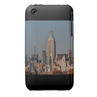 New York City Skyline Photo with Empire State Buil iPhone 3 Covers