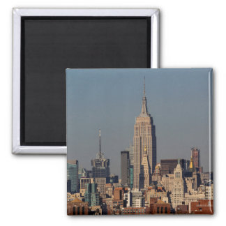 New York City Skyline Photo with Empire State Buil Refrigerator Magnet