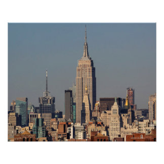 New York City Skyline Photo with Empire State Buil