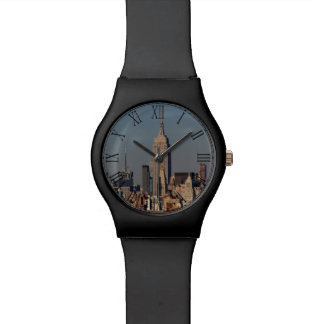 New York City Skyline Photo with Empire State Buil Wrist Watches