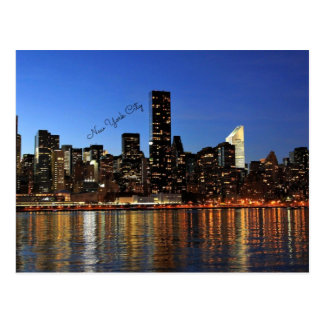 New York City Skyline Postcard