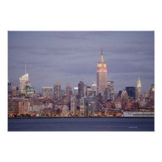 new york skyline art posters framed artwork. Black Bedroom Furniture Sets. Home Design Ideas