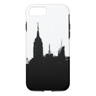 New York City Skyline Silhouette iPhone 7 Case