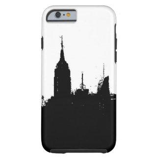New York City Skyline Silhouette Tough iPhone 6 Case