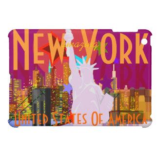 New York City Skyline Statue of Liberty USA iPad Mini Covers