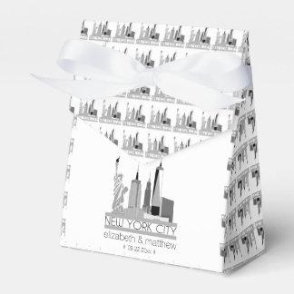 New York City Skyline Wedding Wedding Favour Boxes