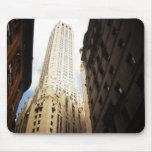 New York City Skyscraper Reaching Towards the Sky