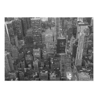 New York City Skyscrapers Invitation