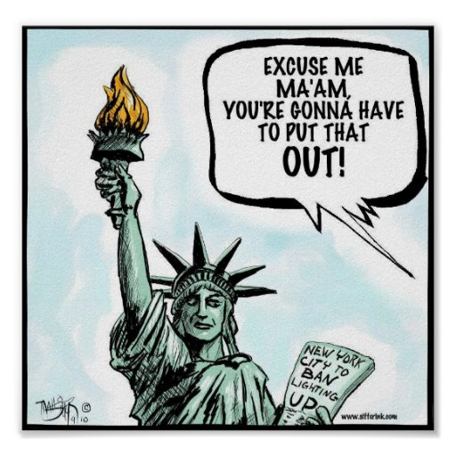 New York City Smoking Ban Print