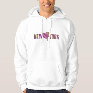 NEW YORK CITY SOUL HEART LOVE HOODIES