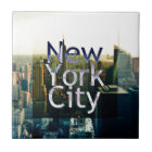 New York City Souvenir Tile