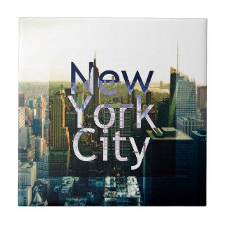 New York City Souvenir Tile