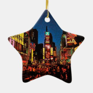 New York City Star Ornament