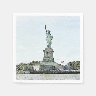 New York City - Statue of Liberty Disposable Serviette