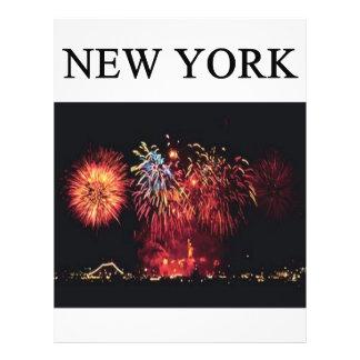 NEW YORK city statue of liberty Flyer Design
