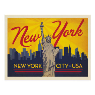 New York City | Statue of Liberty Postcard