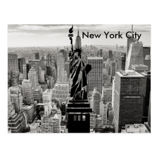 New York City Statue of Liberty Postcard