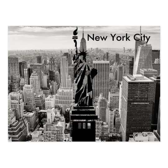 New York City Statue of Liberty Postcard