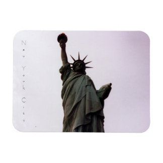 new york city statue of liberty rectangle magnets