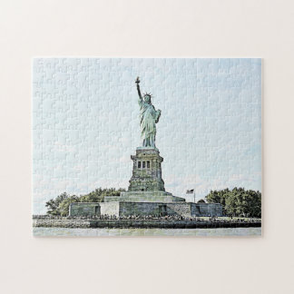 New York City - Statue of Liberty Puzzle