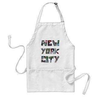 New York City Street Art Adult Apron
