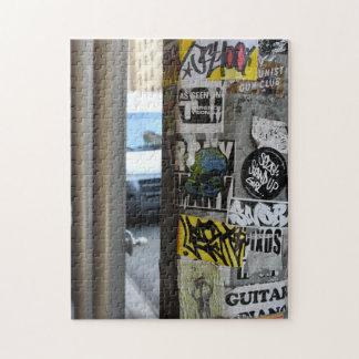 New York City Street Art Urban Photography NYC Jigsaw Puzzle