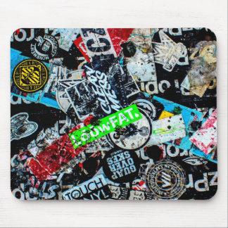 New York City Street Graffiti Photo Mouse Pads