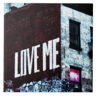 New York City Street Graffiti Photo Tile