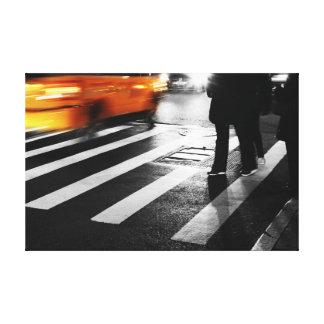 New York City Street Scene Canvas Print