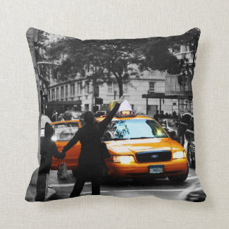New York City Street Scene Cushion