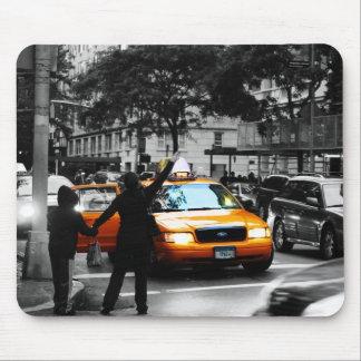 New York City Street Scene Mouse Pad