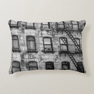 New York City Street Urban Photo Decorative Cushion