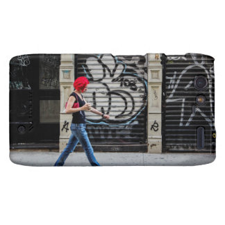 New York City Street Urban Photo Droid RAZR Cover