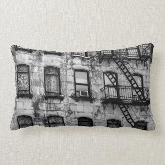 New York City Street Urban Photo Lumbar Cushion