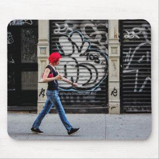 New York City Street Urban Photo Mousepads