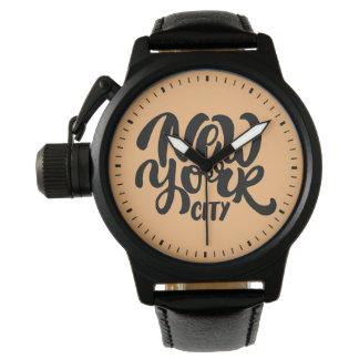 New York City Style Wrist Watches