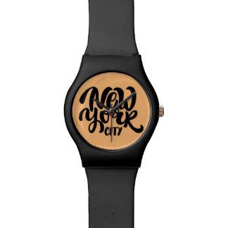 New York City Style Wristwatch