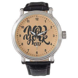 New York City Style Wristwatches