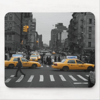 New York City Taxi Cabs Tapis De Souris