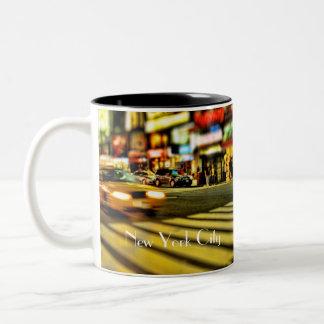 New York City Taxi Two-Tone Coffee Mug