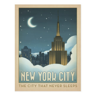 New York City | The City That Never Sleeps Postcard