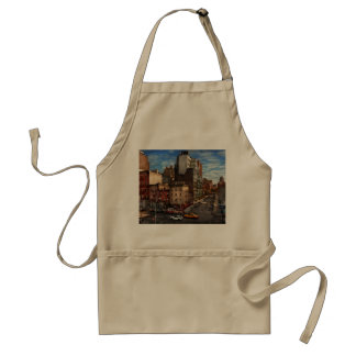 New York - City - The corner of 10th Ave & W 18th Adult Apron