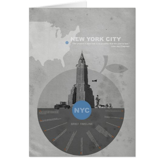 New York City theme Card