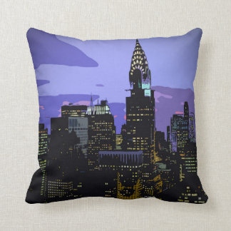 New York City Throw Cushion