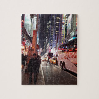 New York City Time Square puzzle