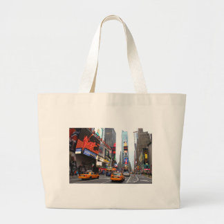 New York City Times Square Canvas Bag