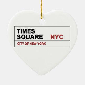 New York City Times Square Christmas Ornament